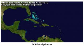 CCRIF Analysis Area