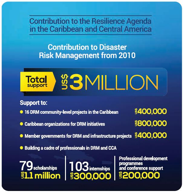Contribution to Disaster Risk Management Since 2010-2019