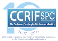 CCRIF SPC 10th Anniverssary Logo