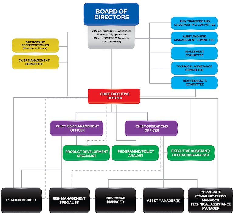 CCRIF SPC Organisation Structure Revised January 2021