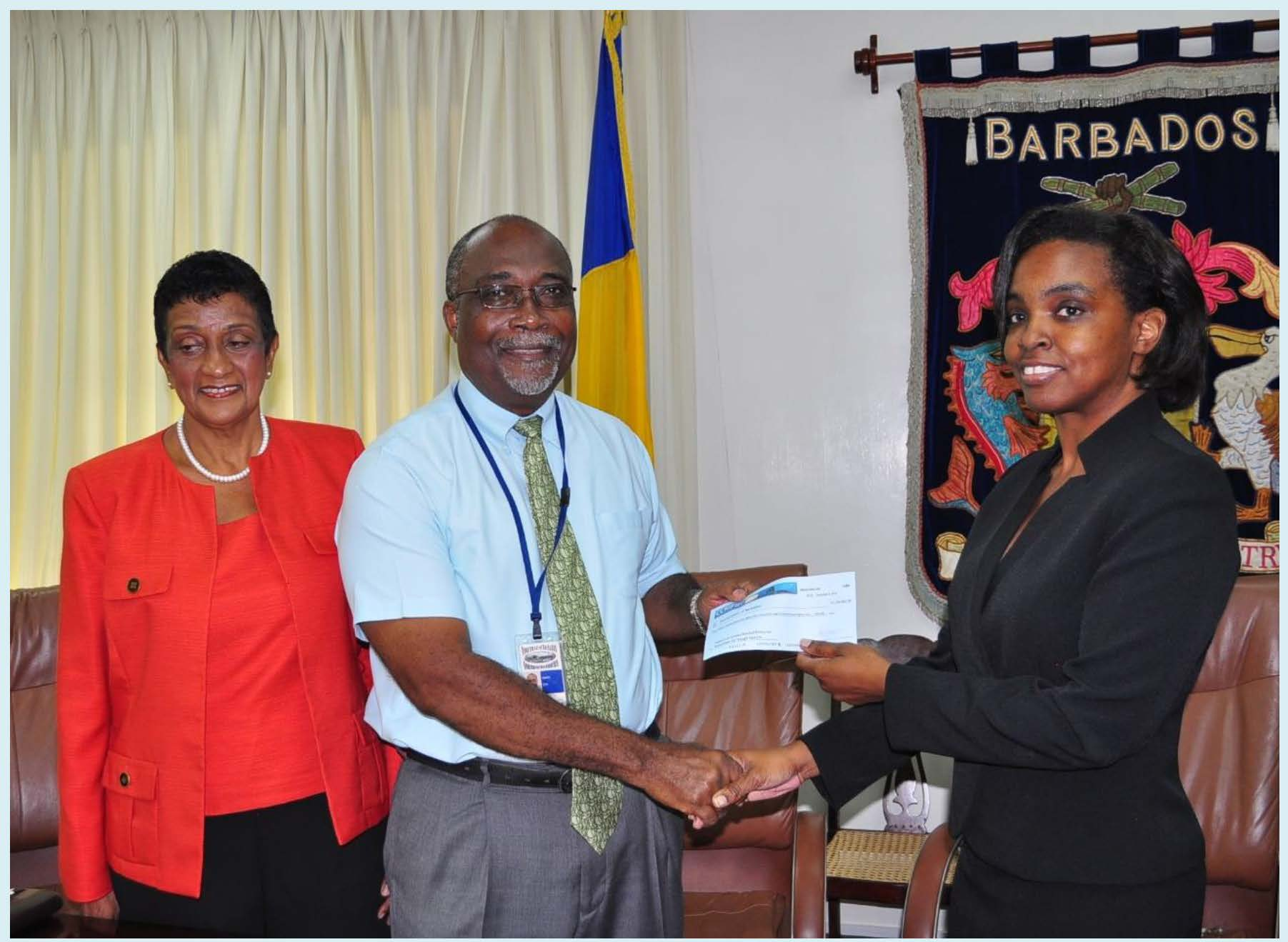 Barbados Government Receives US$1.28 million from CCRIF SPC following November Rains