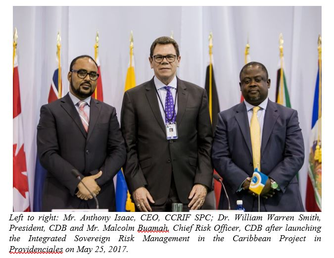 CDB and CCRIF Launch Integrated Sovereign Risk Management in the Caribbean Project