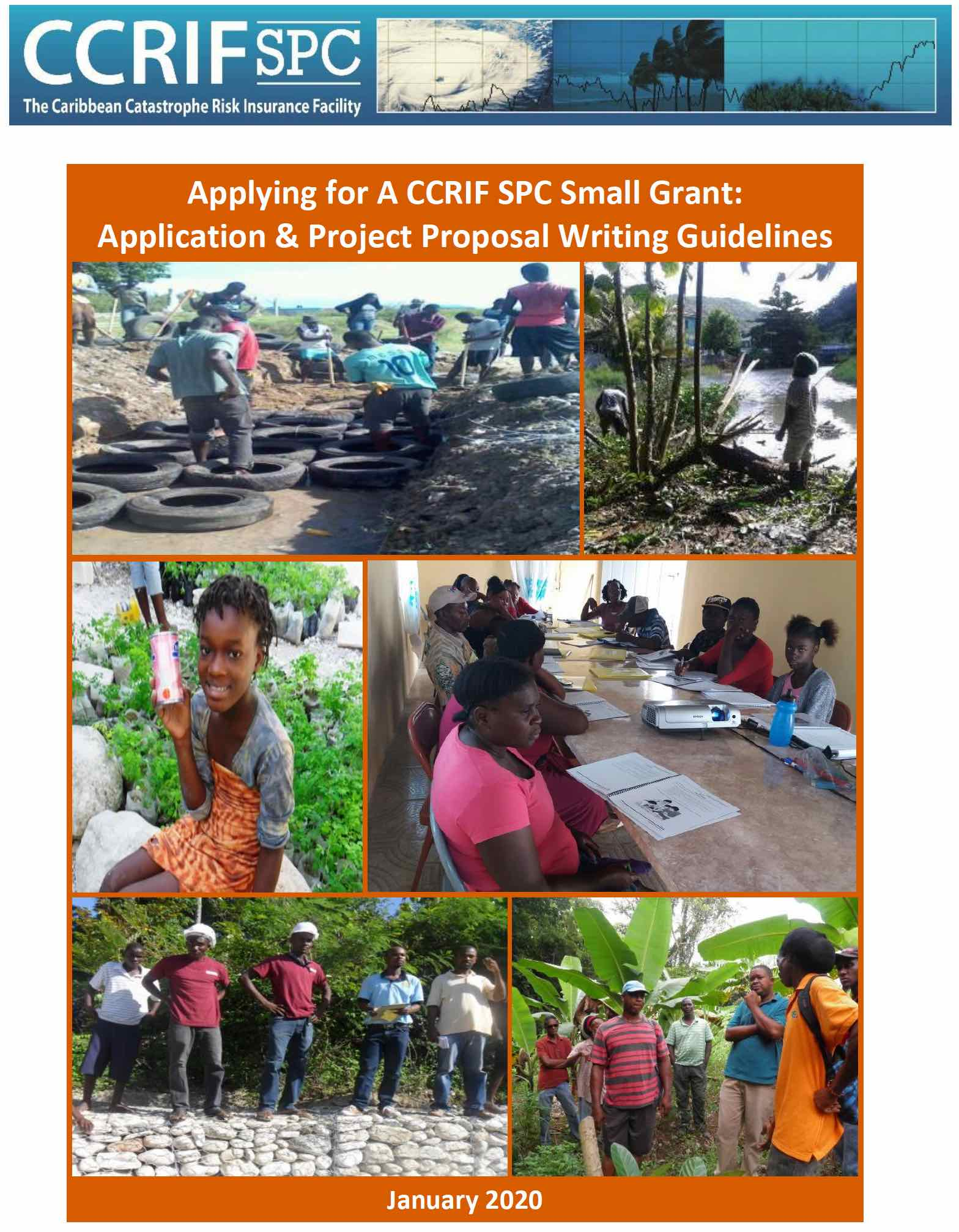Applying for A CCRIF SPC Small Grant: Application & Project Proposal Writing Guidelines