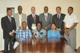 The first batch of UWI-CCRIF scholarship recipients