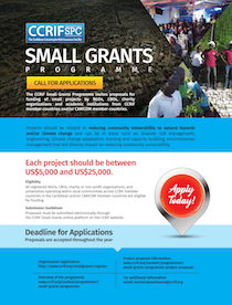 Small Grants Programme Flyer