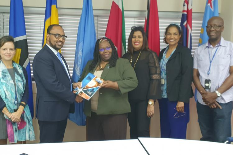 Courtesy Call with UNECLAC, Port-of-Spain 2020